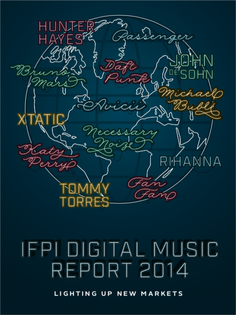 digital music report 2014