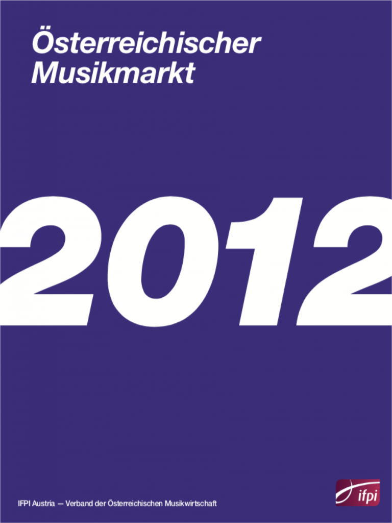 ifpi marktbericht 2012